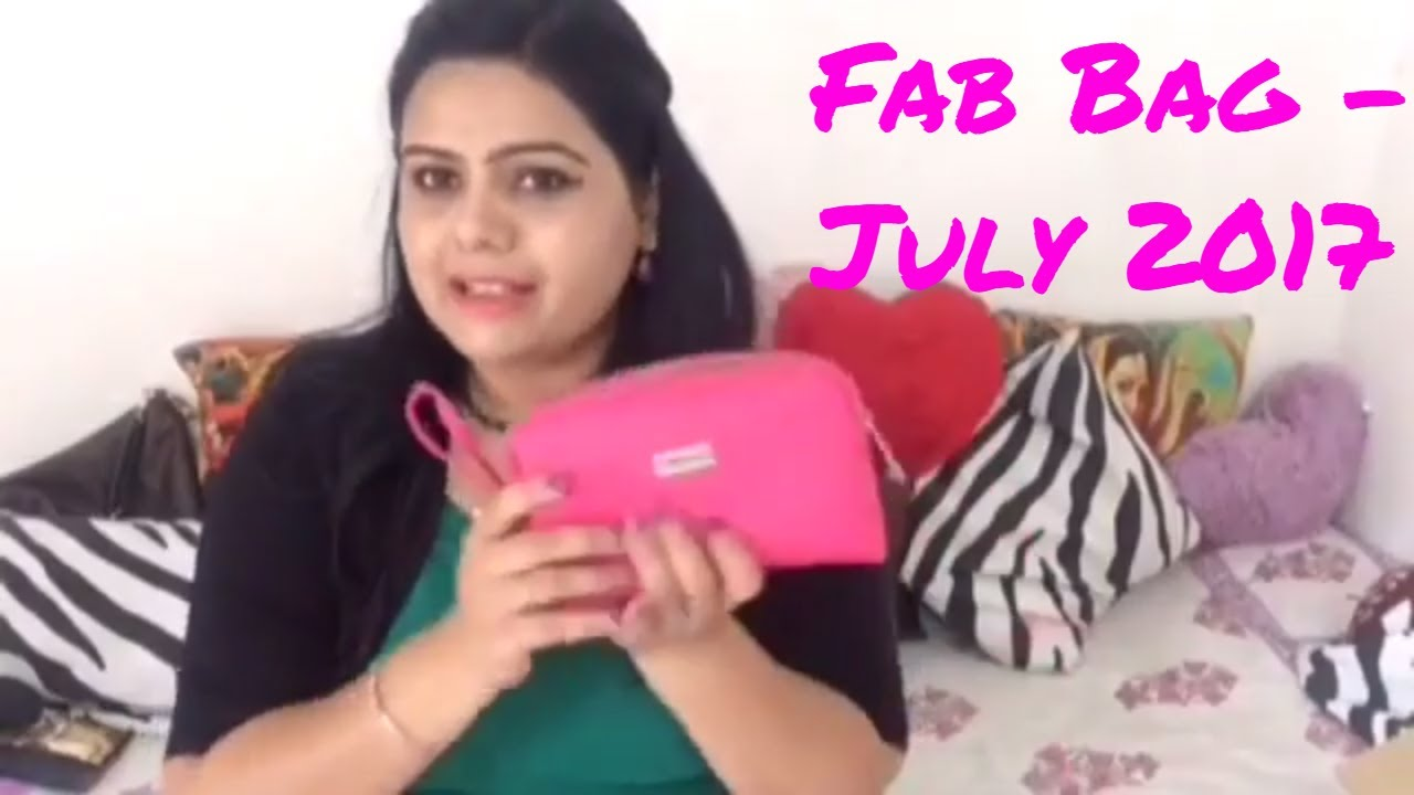 Fab Bag July 2017 | unboxing