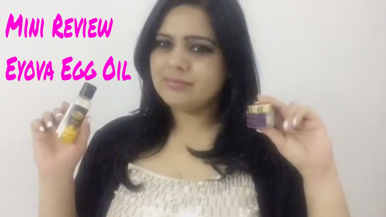 Eyova Egg Oil | Wikka Beauty Potion | MINI REVIEW
