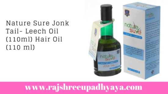 Nature Sure Jonk Tail- Leech Oil (110ml) Hair Oil (110 ml)